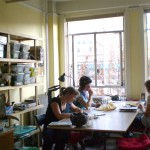 The main work room at the IPRC