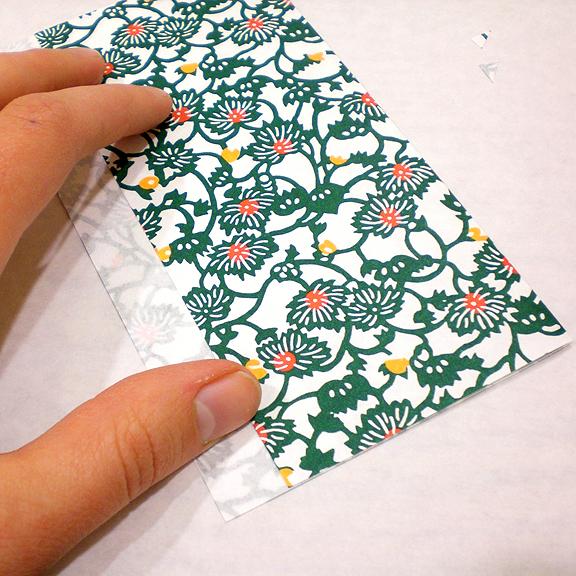 Washi Paper Decoupage Egg Directions - Paper Folding