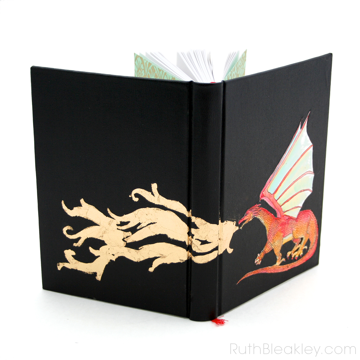 Fire Breathing Dragon Journal by Ruth Bleakley