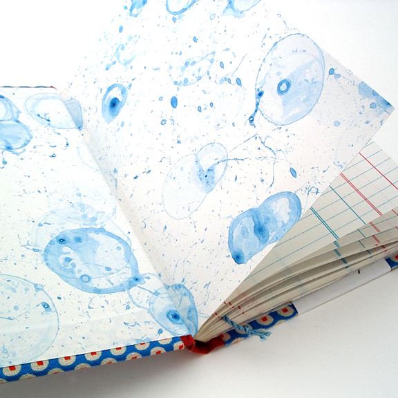 Bubble Endpages by Ruth Bleakley - Tutorial