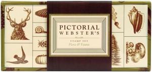 pictorial websters stamp set