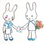 Bunnies in Love by Joey's Dream garde