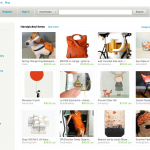 Etsy front page on June 8, 2011 at 3:30 PM EST