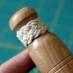 Turk's Head Knot on a Bookbinding Awl