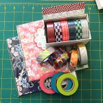 washi tape care package from japan