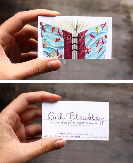 bookbinding-photo-business-cards-cranes