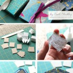 Easy mini book photo tutorial - make your own DIY accordion books