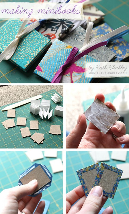 Easy DIY Mini Accordion Book Photo Tutorial by Ruth Bleakley