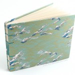 Handmade waves guestbook album by Ruth Bleakley