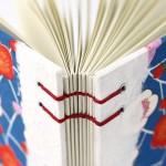 Plum Blossom Handmade Journal by Ruth Bleakley