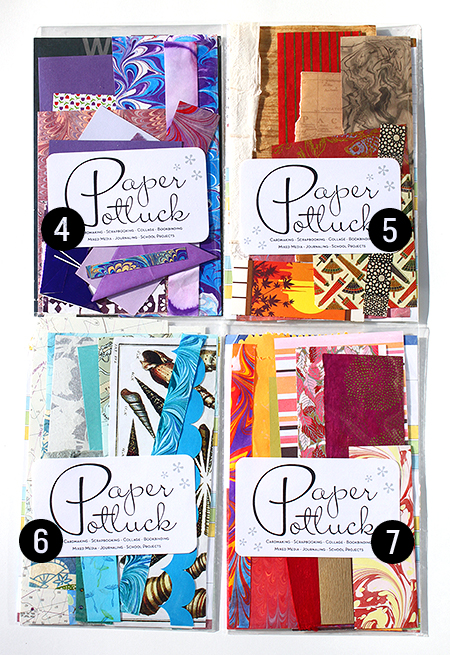 Paper Potluck Scrap Packs 2