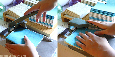Using a Corner Rounder in Bookbinding - Ruth Bleakley
