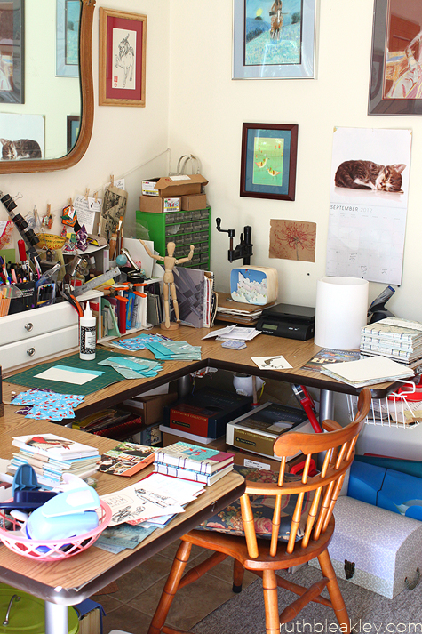 Bookbinding Studio Desk - Ruth Bleakley