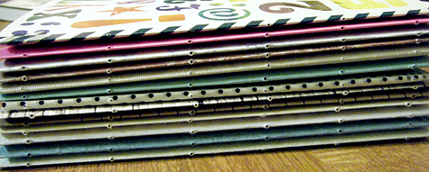 Pierced Signatures - Longstitch Tutorial by Are you Flowin