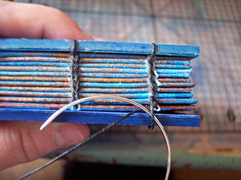 coptic stitch bookbinding tutorial