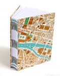 Paris Map Travel Journal by Ruth Bleakley