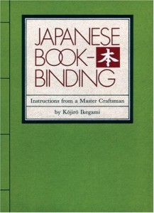 5 Great How-To Books about Bookbinding: Japanese Bookbinding by Kojiro Ikegami