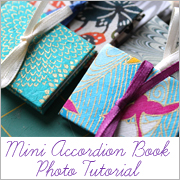 Mini Accordion Book Photo Tutorial Sidebar Link