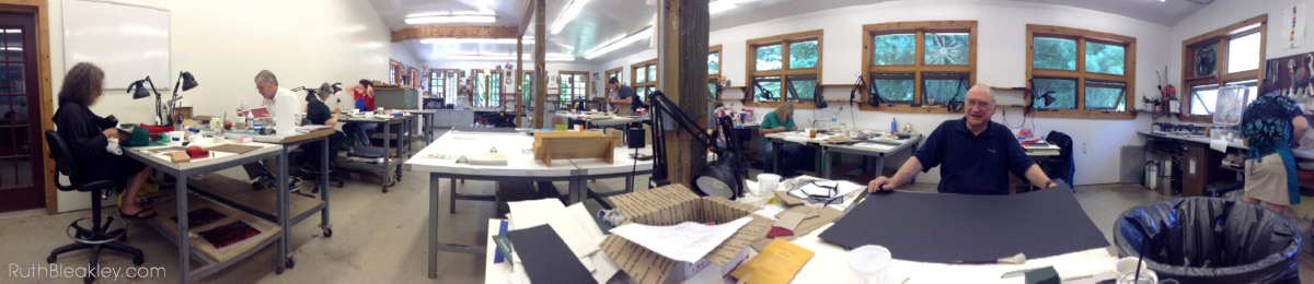 Penland School of Crafts Books and Paper Workshop 2014