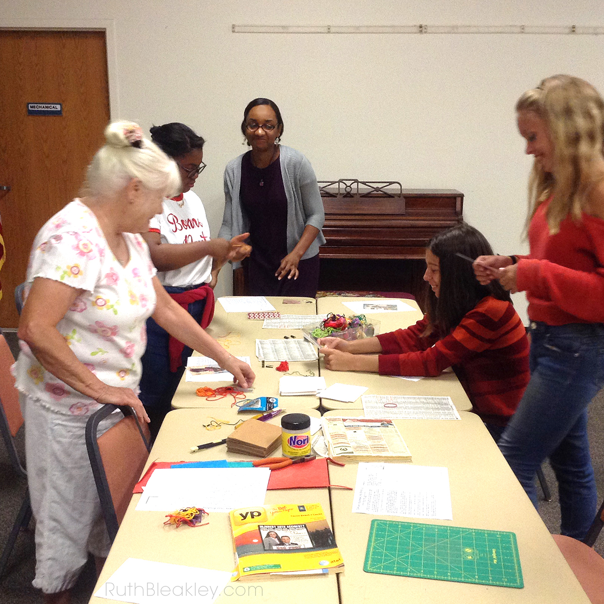 Japanese Bookbinding Class taught by Ruth Bleakley