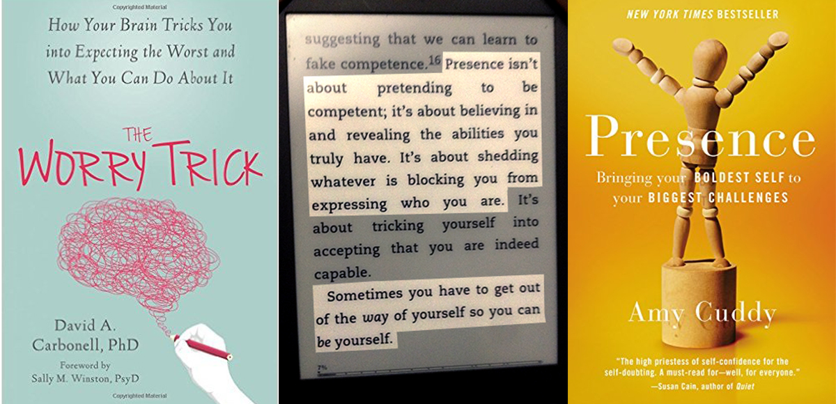 Two books to give you heart and bolster your courage