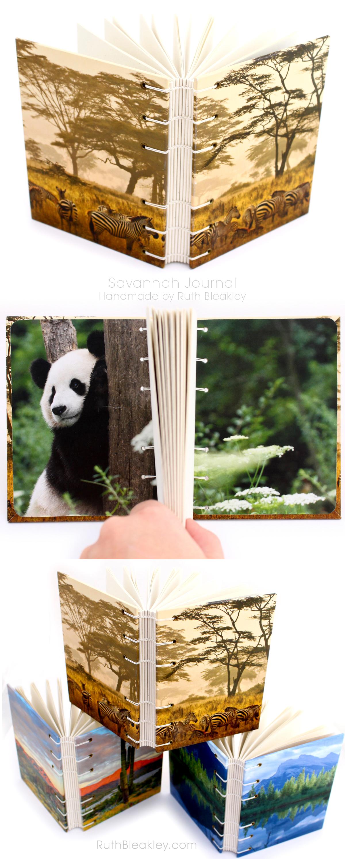 Savannah Journal handmade by bookbinder Ruth Bleakley