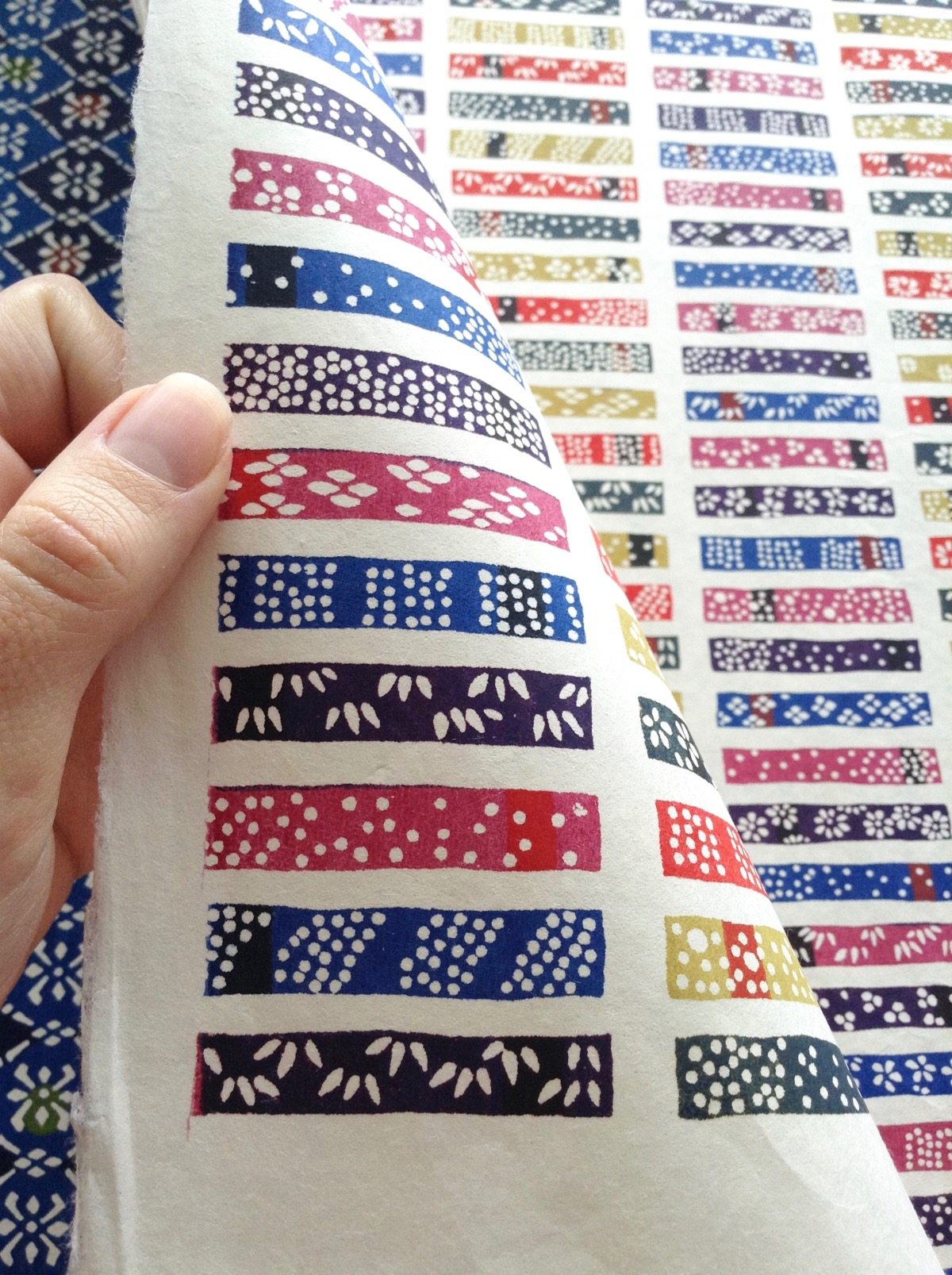 Handmade Chiyogami and Katazome Paper from Japan - 97