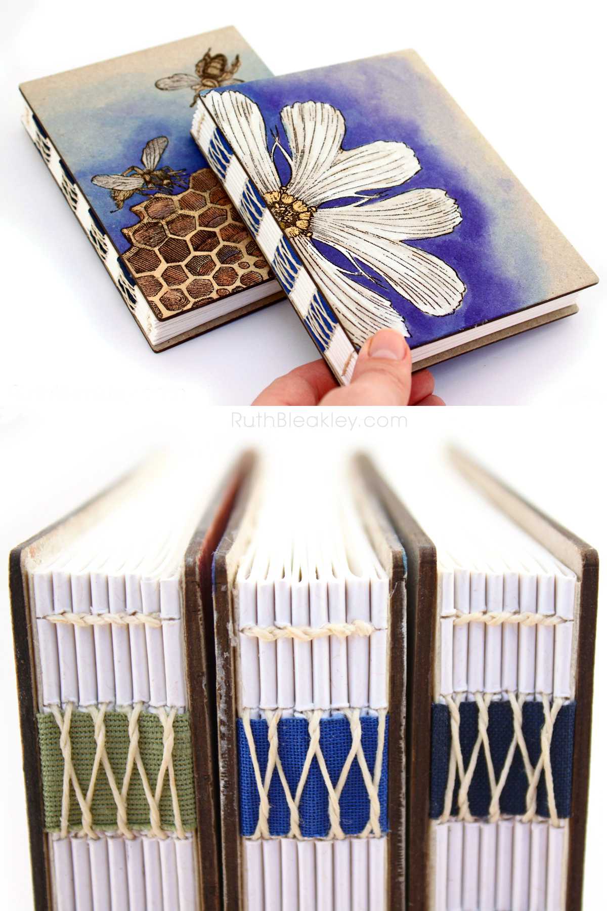 Handmade French Link Journals Make Great Gifts for Writers