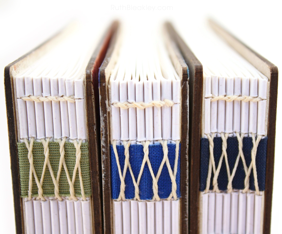 French Link Bookbinding by Ruth Bleakley