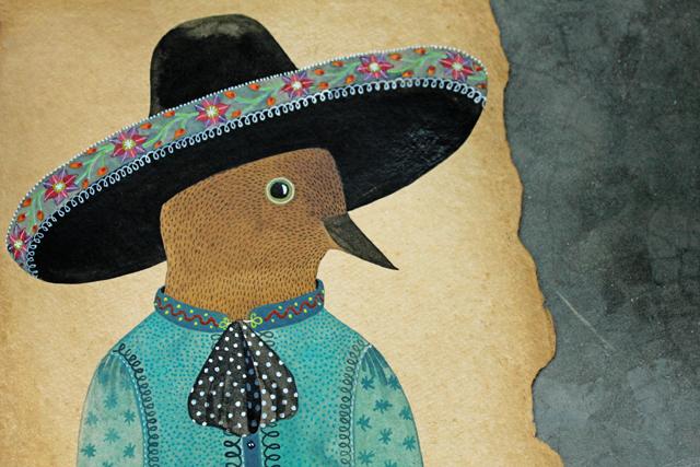 Pedro - Geninne Zlatkis 2013 - original painting
