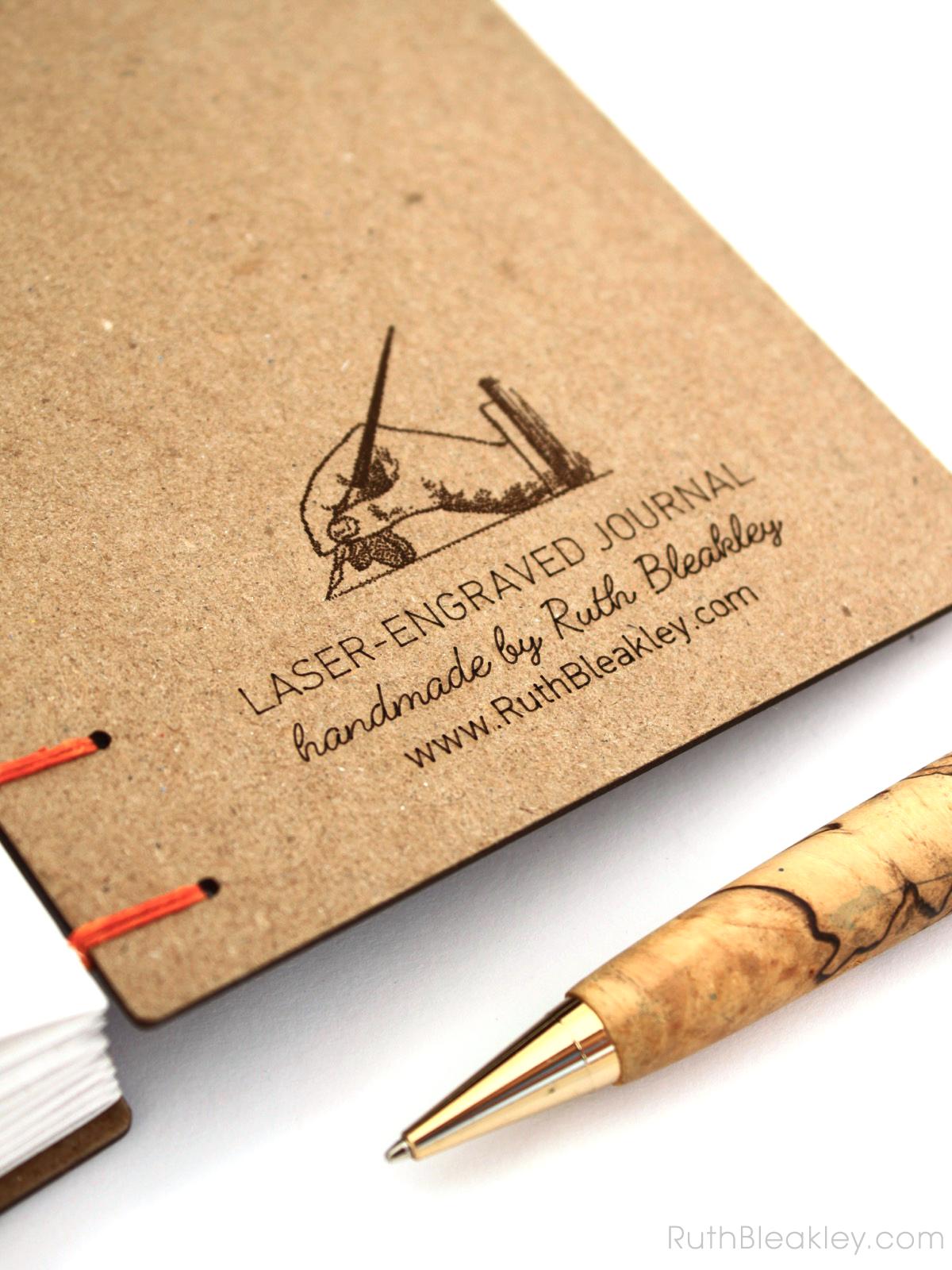 Bear Journal handmade by American book artist Ruth Bleakley - 8
