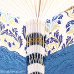 Florentine Waves French Link Journal handmade by Ruth Bleakley - 5