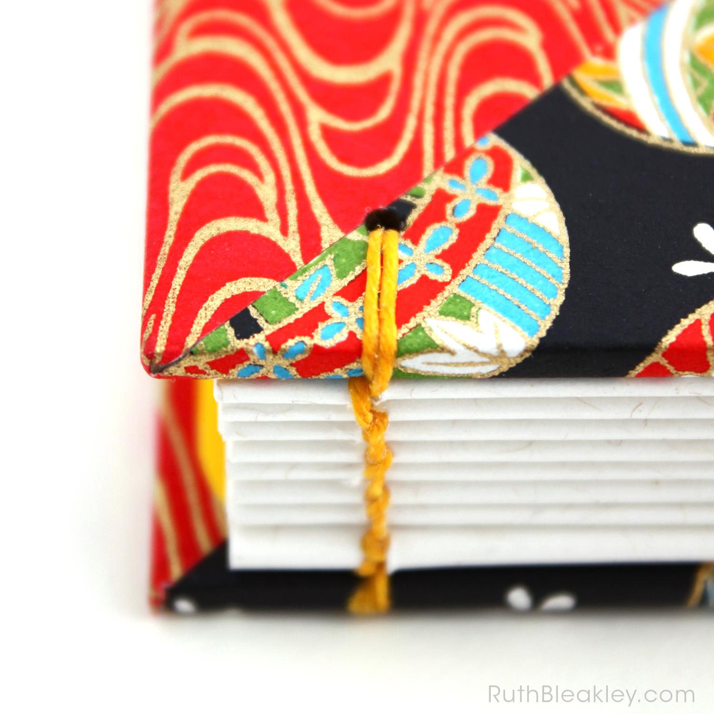 Temari Ball Journal handmade by Ruth Bleakley Coptic Journals 13